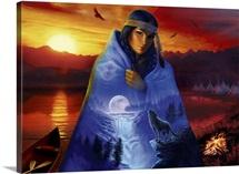 Cloak Of Visions Landscape