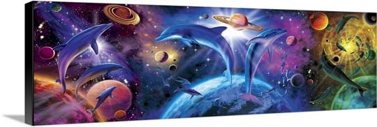 Dolphin Triptych