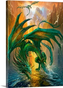 Dragon Of The Lake