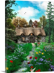 Meadow Cottage Path