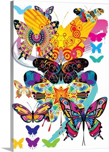 Pop Art Butterfly IV