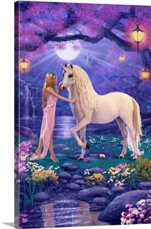 Unicorn Garden I