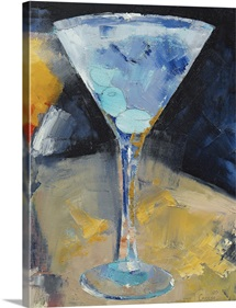 Blue Martini Painting