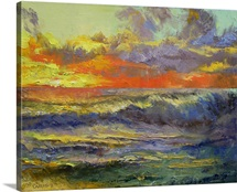 California Dreaming - Sunset Seascape