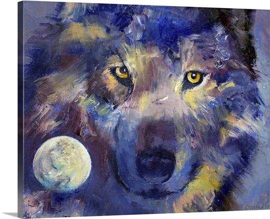 Grey Wolf Moon