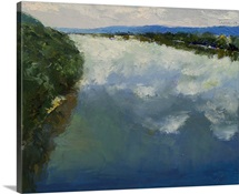Ohio River Painting