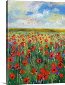 Poppy Painting