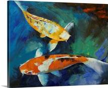 Sanke Koi Painting