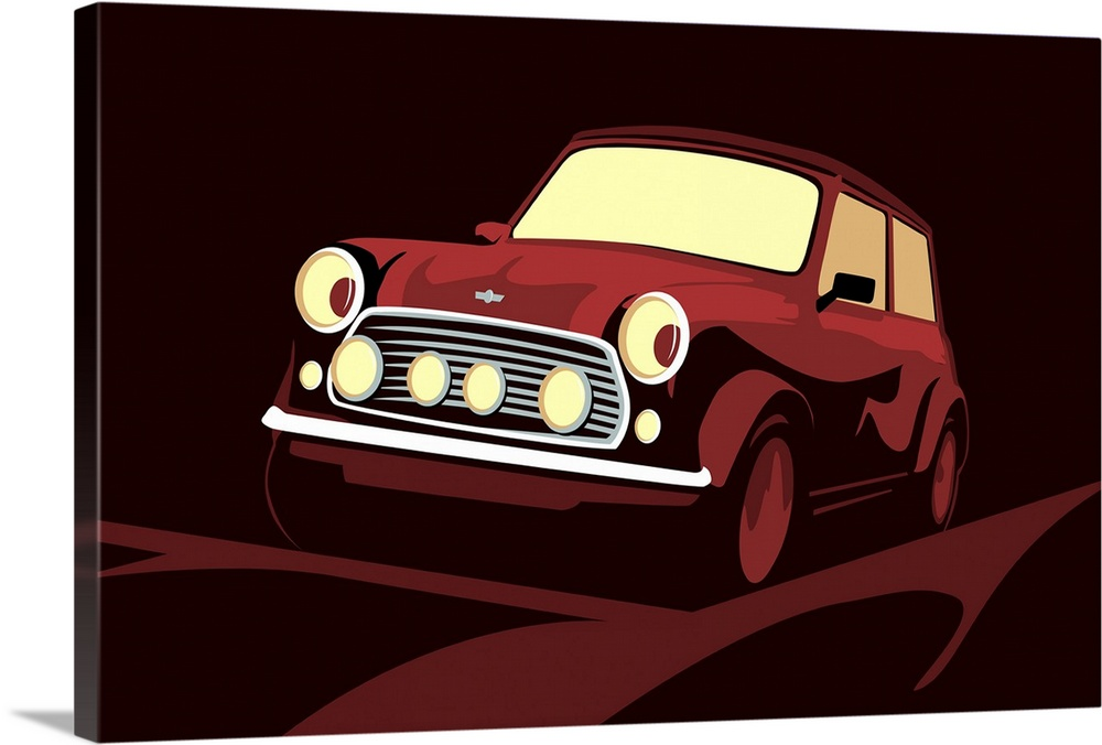 Premium Thick-Wrap Canvas Wall Art Entitled Classic Mini