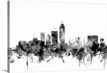 Indianapolis Indiana Skyline