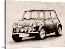 Mini Cooper Sketch
