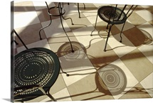 chairs shadows