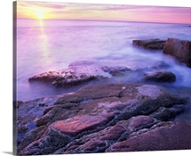 Atlantic coast near Thunder Hole, Acadia National Park, Maine