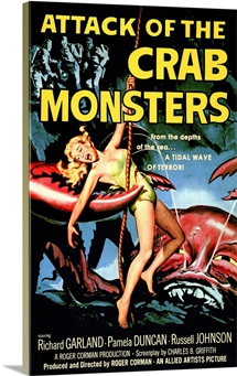 Attack of the Crab Monsters (1957)