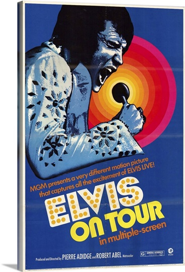Elvis On Tour (1972)