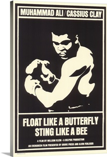 Float Like a Butterfly Sting Like a Bee