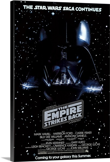 The Empire Strikes Back 1980 Photo Canvas Print Great
