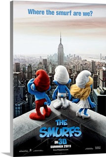 The Smurfs - Movie Poster