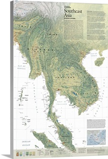 A map of Southeast Asia