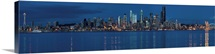 A panorama of the Seattle skyline