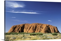 Ayers rock at Uluru National Park