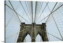 Brooklyn Bridge, Manhattan Island, New York, U.S. New York