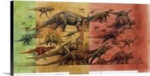 Comparison of dinosaurs