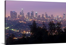 Dawn in Los Angeles from the Griffith Observatory