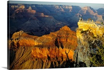 Grand Canyon at sunset, Mather Point