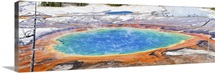 Grand Prismatic is a colorful sight in Yellowstone National Park