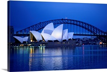 Harbor and opera house, Sydney, Austalia