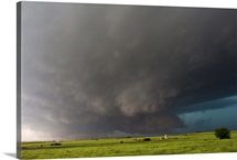 Historic deadly wallcloud that produced the largest tornado in history