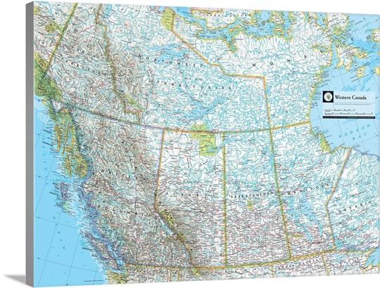 Maps Update 1200720 Map of Western Canada Western Canada – Road Map of Western Canada