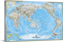 NGS political map of the World
