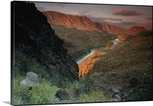 Rio Grande at dawn, Big Bend Ranch State Park, Texas