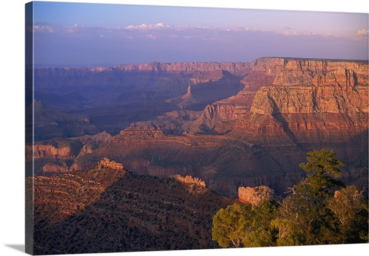 Scenic view of Grand Canyon National Park in Arizona