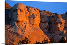 South Dakotas famed Mount Rushmore National Monument