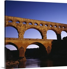The highest aqueduct known to have been built by the Romans