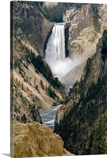 The Lower Falls of the Yellowstone River, Yellowstone National Park, Wyoming