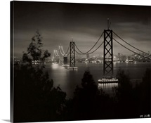 The San Francisco-Oakland Bay Bridge from Yerbe Buena Island