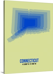 Connecticut Radiant Map I