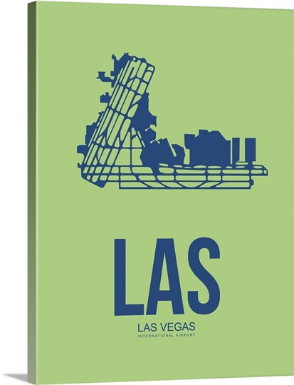 minimalist las las vegas poster ii photo canvas print great big canvas. Black Bedroom Furniture Sets. Home Design Ideas