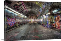 Leake Street graffiti tunnels