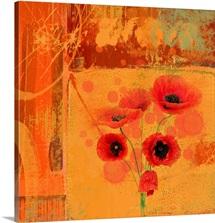 Red Poppy I