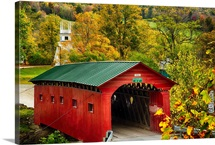 Covered Bridge in Vermont II