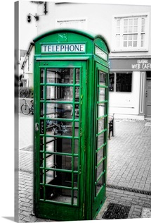 Irish Phone Booth, Kinsale, County Cork, Republic of Ireland