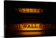 11 Wall St. Building Sign