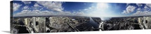 360 degree view of a city Tampa Hillsborough County Florida