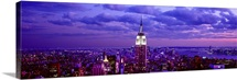 Aerial view of a city, Rockefeller Center, Midtown Manhattan, Manhattan, New York City, New York State,