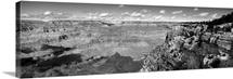 Arizona, Grand Canyon, High angle view of a landscape